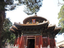 Frente chino del palacio Fotografía de archivo libre de regalías