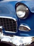 Frente clásico 1955 de la silla de manos de Chevy Fotografía de archivo