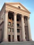 Frente con las columnas Foto de archivo