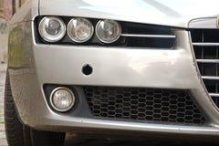 Frente de Alfa Romeo 159 Imagen de archivo