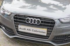Frente de Audi A5 Imagenes de archivo