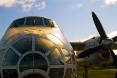 Frente de aviones Foto de archivo libre de regalías