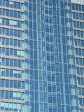 Frente de cristal del rascacielos Fotografía de archivo libre de regalías