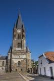 Frente de la abadía de la espina en Limburgo Imagen de archivo