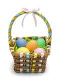 Frente de la cesta de Pascua Imagen de archivo
