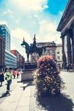 Frente de la galería del arte moderno, Glasgow, Escocia 01 08 2017 Foto de archivo libre de regalías
