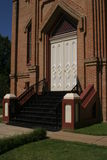 Frente de la iglesia Imagenes de archivo