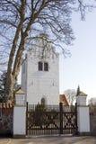 Frente de la iglesia foto de archivo