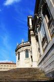 Frente de la iglesia histórica de Santa Maria Maggiore de los di de Papale de la basílica en Roma imagen de archivo