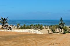 Frente de la playa de la bahía de Henties Fotos de archivo libres de regalías