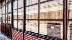 Frente de la tienda del vintage Fotografía de archivo