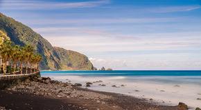 Frente de mar de Seixal Fotos de archivo libres de regalías