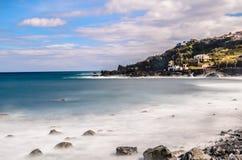 Frente de mar de Seixal Foto de archivo libre de regalías