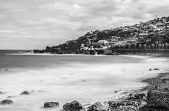 Frente de mar de Seixal Imagen de archivo