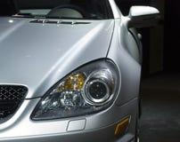 Frente de un coche de deportes costoso Foto de archivo libre de regalías