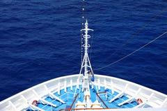 Frente de una nave Imagen de archivo libre de regalías