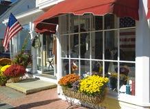 Frente del almacén de los E.E.U.U. de la calle principal Imagen de archivo