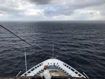 Frente del barco de cruceros del carnaval foto de archivo libre de regalías