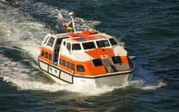 Frente del barco del rescure del mar Foto de archivo libre de regalías