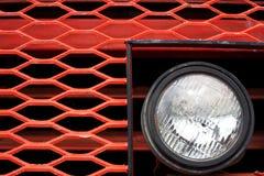 Frente del carro de mina gigante de la vendimia Foto de archivo libre de regalías