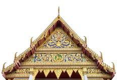 Frente del chanasongkram del wat del templo budista Imágenes de archivo libres de regalías