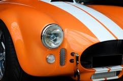 Frente del coche de deportes moderno Imagen de archivo libre de regalías