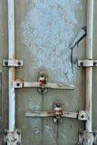 Frente del contenedor para mercancías Imagen de archivo libre de regalías