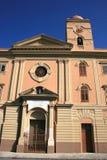 Frente del edificio histórico Imagenes de archivo