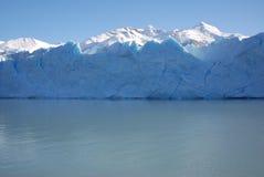 Frente del hielo de Perito Moreno fotografía de archivo