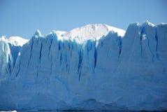Frente del hielo de Perito Moreno imagenes de archivo