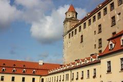 Frente del palacio en día asoleado Fotografía de archivo libre de regalías