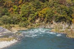 Frente del río imagen de archivo