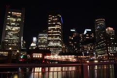 Frente del suministro de agua de Boston foto de archivo libre de regalías