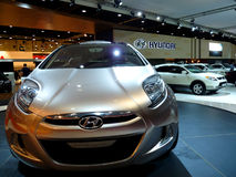 Frente del Yo-Modo de Hyundai Fotos de archivo
