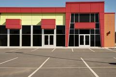 Frente genérico vacante de la tienda, negocio o espacio de oficina profesional fotografía de archivo libre de regalías