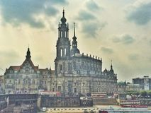 Frente histórico de edificios Fotos de archivo