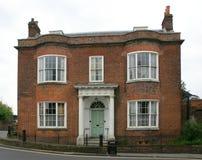 Frente histórico de la casa Imagen de archivo libre de regalías