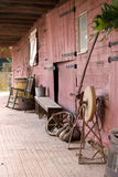 Frente histórico del granero Imagen de archivo libre de regalías