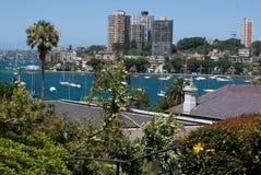 Frente marítima da cidade de Sydney Imagem de Stock Royalty Free