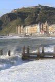 Frente marítima de Aberystwyth Imagens de Stock Royalty Free