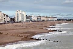 Frente marítima de Eastbourne Imagens de Stock