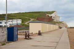 Frente marítima em Seaford fotografia de stock
