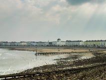 Frente marítima Gales de Llandudno Fotografia de Stock Royalty Free