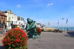 Frente marítima Kent England do negócio fotos de stock