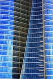 Frente moderno de la ventana del rascacielos Imagen de archivo libre de regalías
