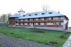 Frente rumano del monasterio Fotografía de archivo