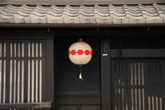 Frente tradicional de la casa en Japón fotos de archivo libres de regalías