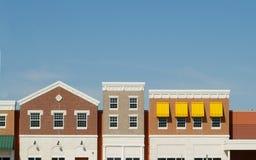 Frentes exteriores del almacén Fotografía de archivo libre de regalías