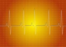 Frequência cardíaca ilustração royalty free