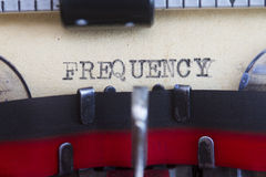 Frequency Stock Images